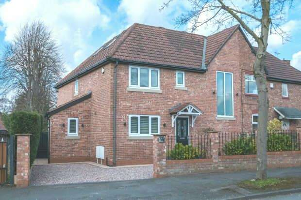 4 Bedrooms Semi Detached House for sale in Tithebarn Road, Hale Barns