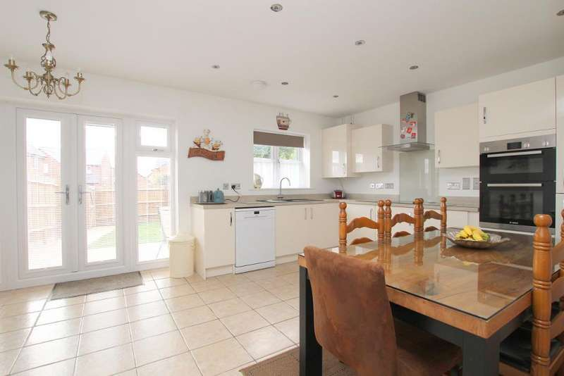 4 Bedrooms Detached House for sale in Abbey Lane, Ampthill, Bedfordshire, MK45 2FX