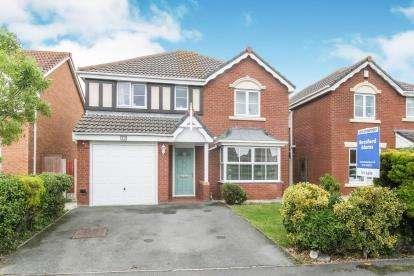4 Bedrooms Detached House for sale in FFordd Idwal, Tower Gardens, Prestatyn, Denbighshire, LL19