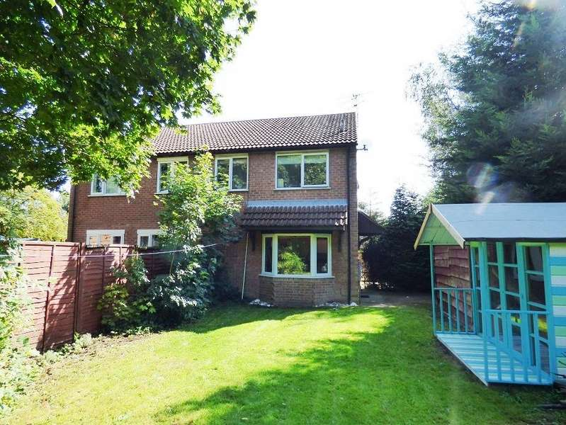 2 Bedrooms Semi Detached House for sale in Woodvale Close, Lincoln LN6