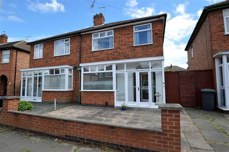 3 Bedrooms Semi Detached House for sale in Deancourt Road, Leicester, LE2 6GH