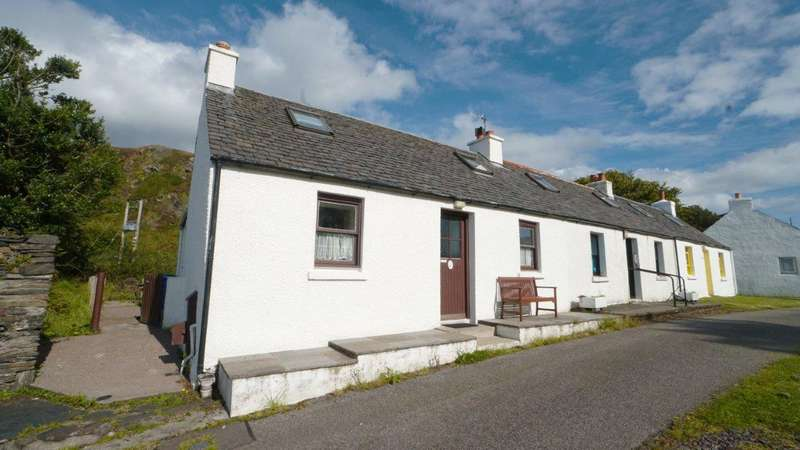 3 Bedrooms Semi Detached Bungalow for sale in 36 Cullipool Village, Cullipool, Luing, Argyll and Bute, PA34