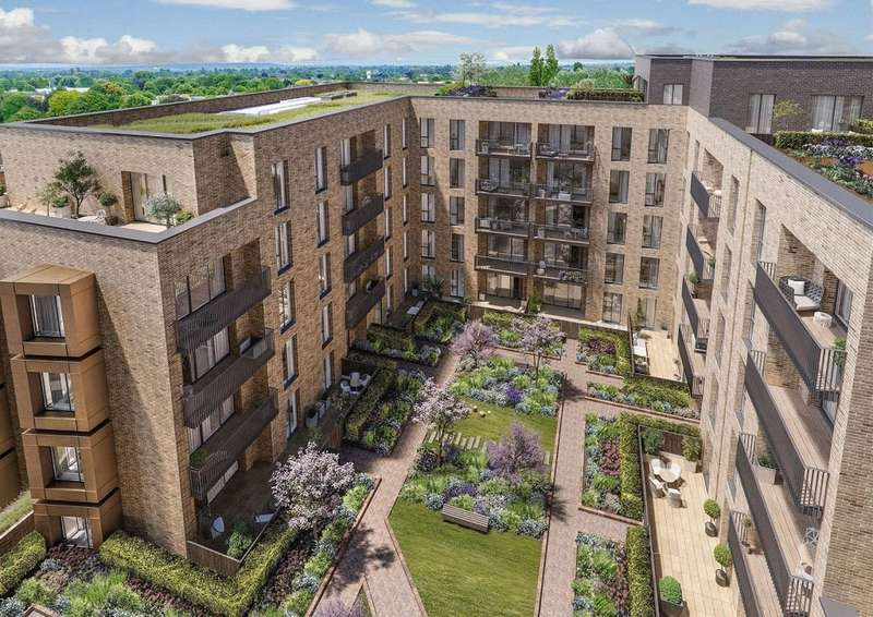 1 Bedroom Apartment Flat for sale in Charter Square, Block D, Staines Upon Thames, Surrey, TW18