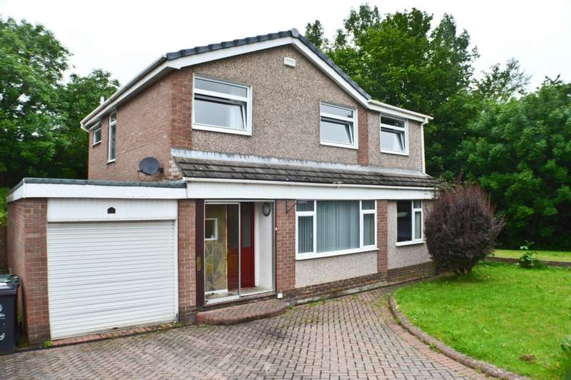 4 Bedrooms Detached House for sale in Maple Grove, Prudhoe, NE42