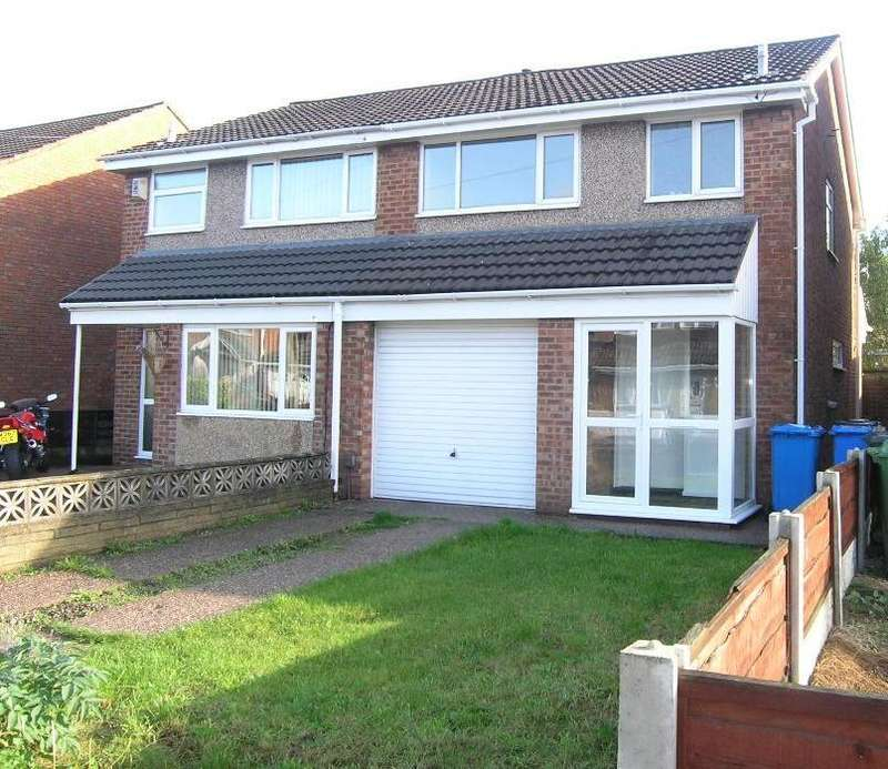 3 Bedrooms House for sale in Stratton Road, Great Sankey, Warrington