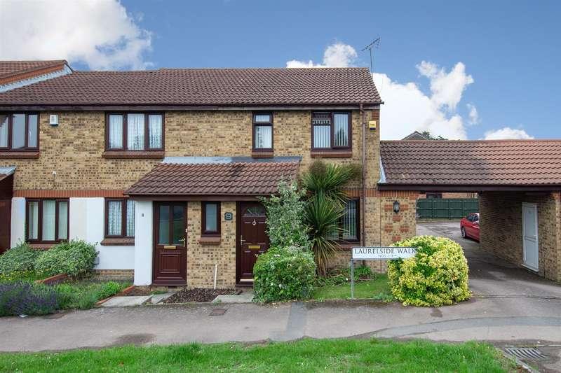 3 Bedrooms End Of Terrace House for sale in Laurelside Walk, Dunstable, Bedfordshire