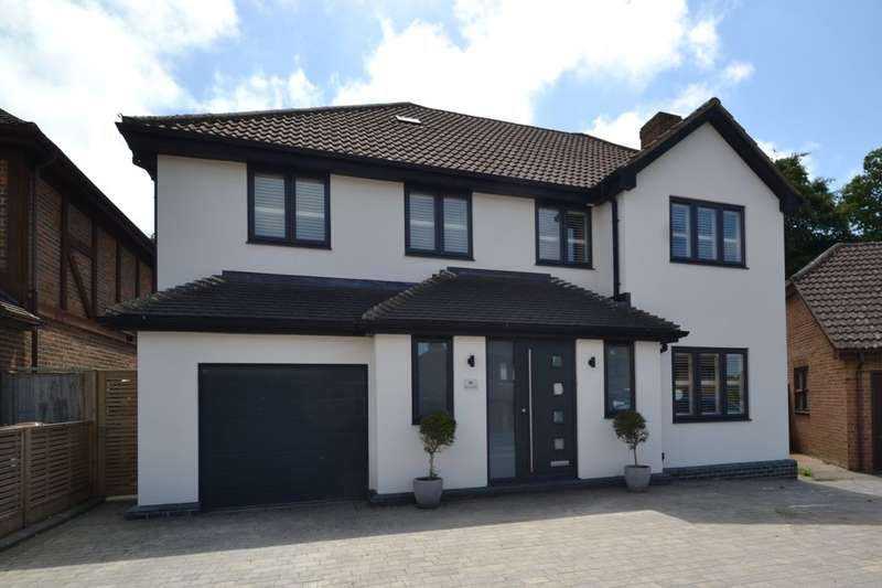 4 Bedrooms Detached House for sale in Mayford Road, Lordswood, Chatham, ME5