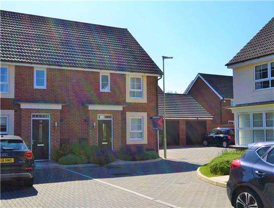 3 Bedrooms Semi Detached House for sale in Bircher Way, Hucclecote, Gloucester, GL3 3QL