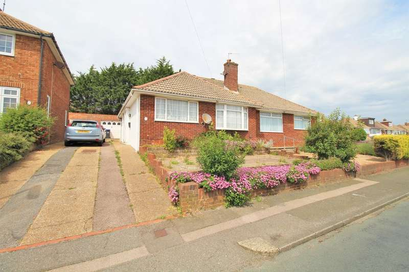 3 Bedrooms Semi Detached Bungalow for sale in Holmbush Way, Southwick, Brighton, BN42 4YD