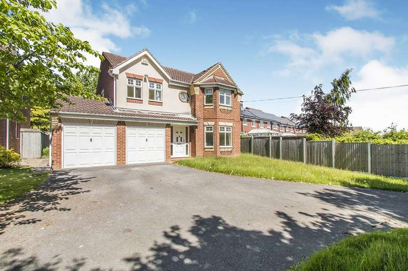 4 Bedrooms Detached House for sale in Arkwright Walk, Morley, Leeds, LS27