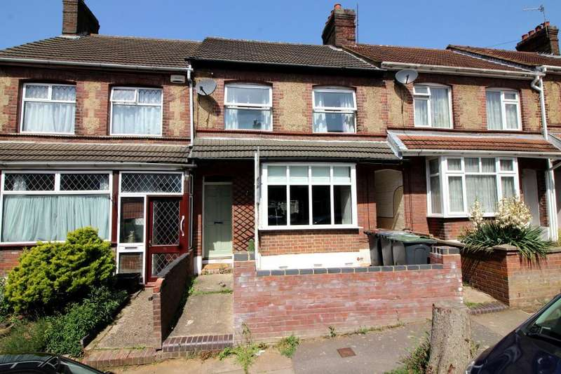 2 Bedrooms Terraced House for sale in Talbot Road, Luton, Bedfordshire, LU2 7RN