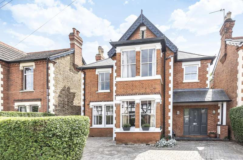 5 Bedrooms Detached House for sale in Chaucer Road, Ashford, TW15