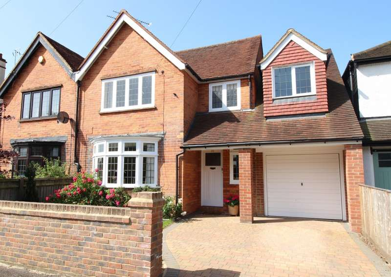 4 Bedrooms Semi Detached House for sale in Matlock Road, Caversham Heights, Reading, RG4