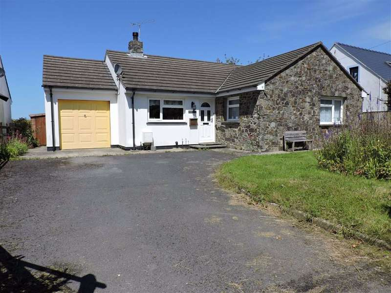 3 Bedrooms Detached Bungalow for sale in Bryn Henllan, Dinas Cross, Newport