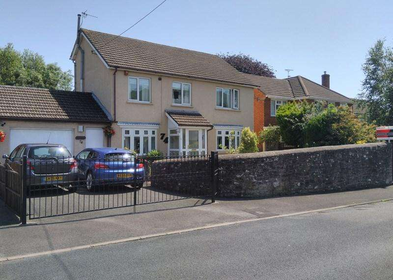 4 Bedrooms Detached House for sale in North Street, Abergavenny