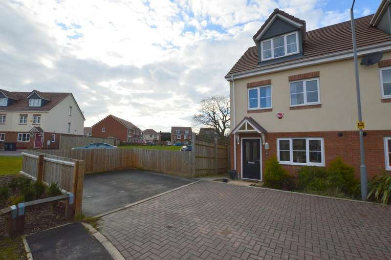 4 Bedrooms Semi Detached House for sale in Verde Close, Round Green, Luton, LU2 7FL
