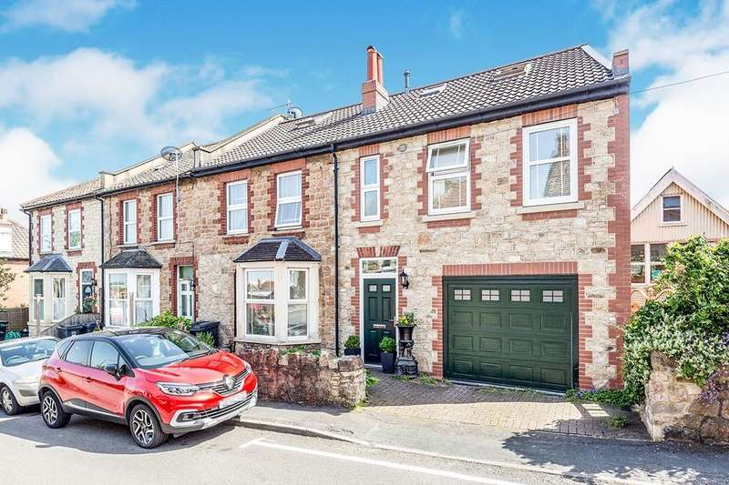 4 Bedrooms Semi Detached House for sale in Roath Road, Portishead, Bristol, BS20