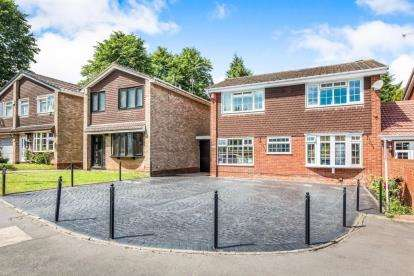 4 Bedrooms Link Detached House for sale in Barnfordhill Close, Oldbury, Birmingham, West Midlands