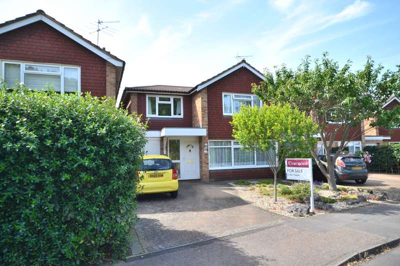 4 Bedrooms Detached House for sale in Maple Road, Ripley, Woking, GU23