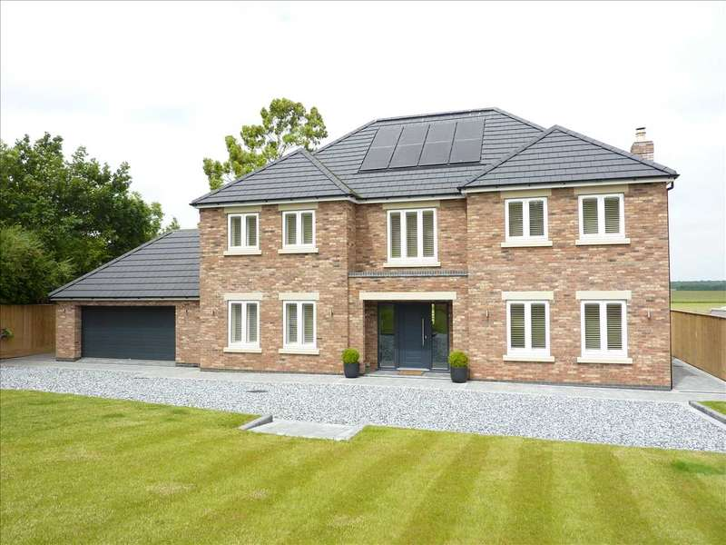 4 Bedrooms Detached House for sale in 'GREENLANDS', OLD MAIN ROAD, BARNOLDBY-LE-BECK, GRIMSBY