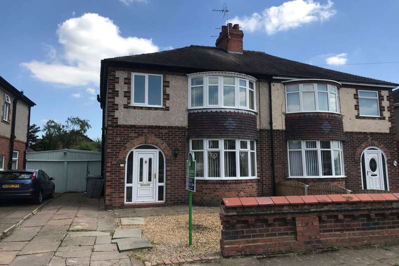 3 Bedrooms Semi Detached House for sale in Greenway, Crewe, CW1