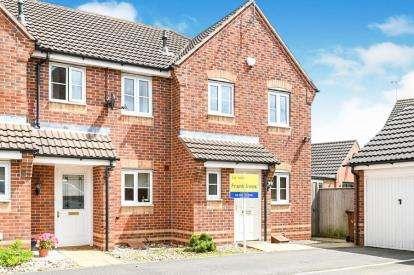 3 Bedrooms End Of Terrace House for sale in Eden Close, Hilton, Derby, Derbyshire