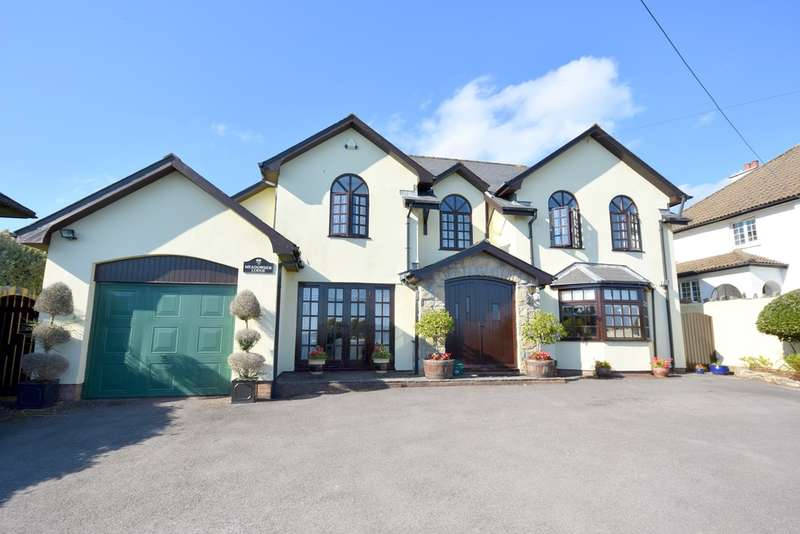 4 Bedrooms Detached House for sale in Meadowside Lodge, Penyturnpike Road, Dinas Powys, Vale of Glamorgan, CF64 4HG