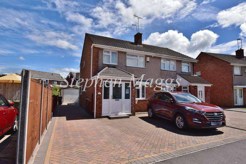 3 Bedrooms Semi Detached House for sale in Charnwood Road, Whitchurch, Bristol, BS14