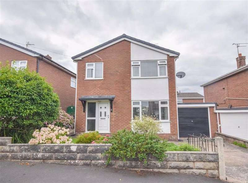 3 Bedrooms Link Detached House for sale in Rowan Road, Aston Park, Flintshire, Aston Park, Flintshire