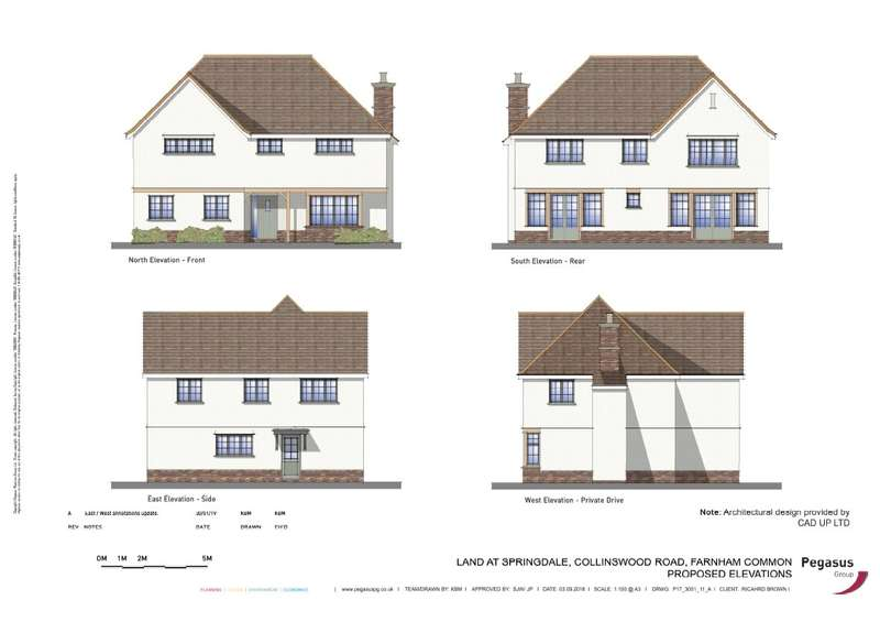 4 Bedrooms Detached House for sale in Collinswood Road, Farnham Common, Buckinghamshire, SL2