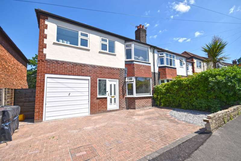 4 Bedrooms Semi Detached House for sale in The Circuit, Cheadle Hulme