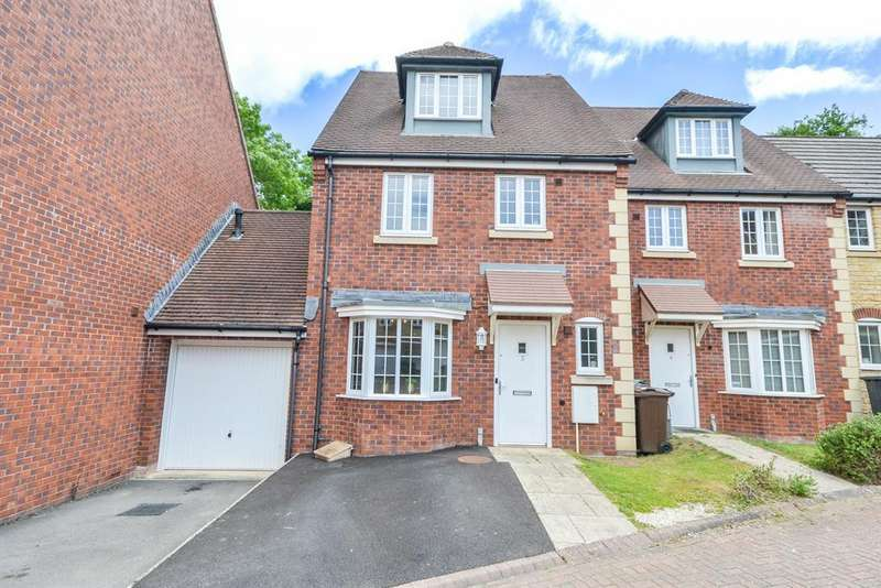 4 Bedrooms Terraced House for sale in Parsons Close, Dursley, GL11 4PJ