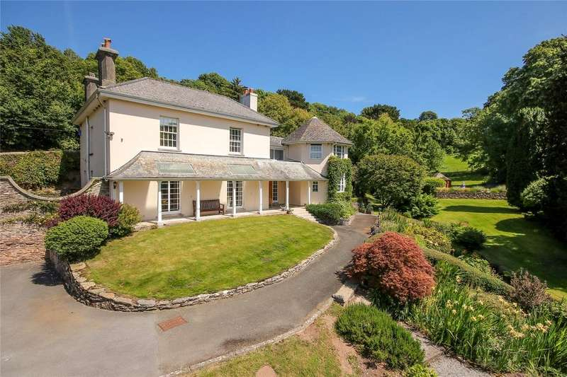 5 Bedrooms Detached House for sale in Bridgend, Noss Mayo, Plymouth, PL8