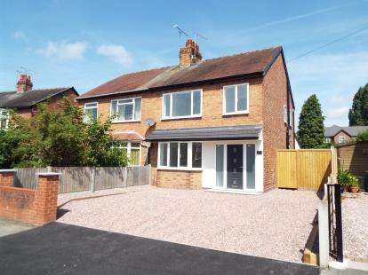 3 Bedrooms Semi Detached House for sale in Jackson Avenue, Nantwich, Cheshire