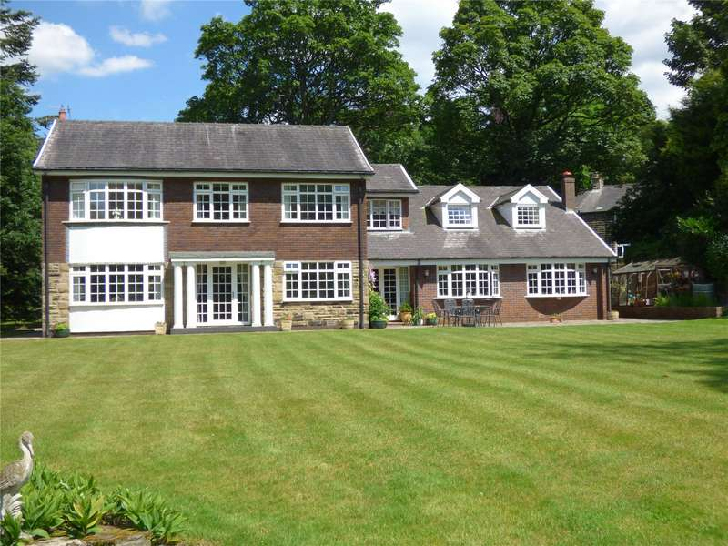 5 Bedrooms Detached House for sale in The Nook, Greenfield, Saddleworth, OL3