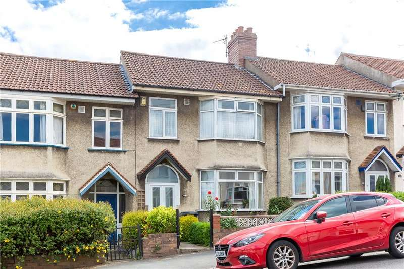 3 Bedrooms Terraced House for sale in Wessex Avenue, Horfield, Bristol, BS7