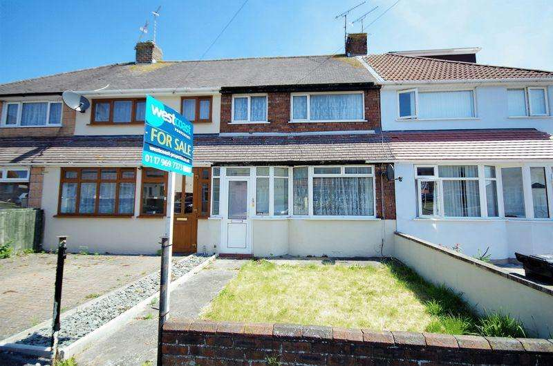 3 Bedrooms Terraced House for sale in Worthing Road, Patchway, Bristol