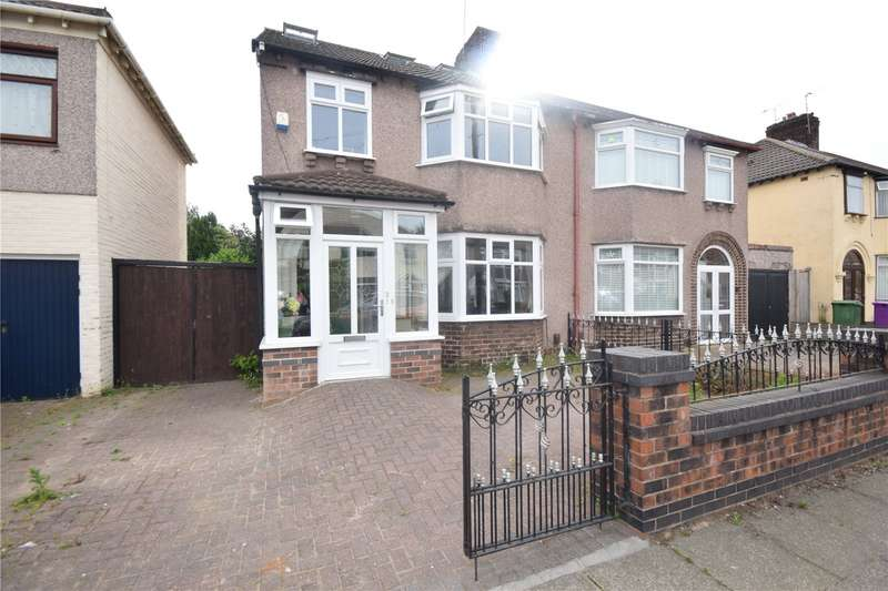 5 Bedrooms Semi Detached House for sale in Stairhaven Road, Allerton, Liverpool, L19