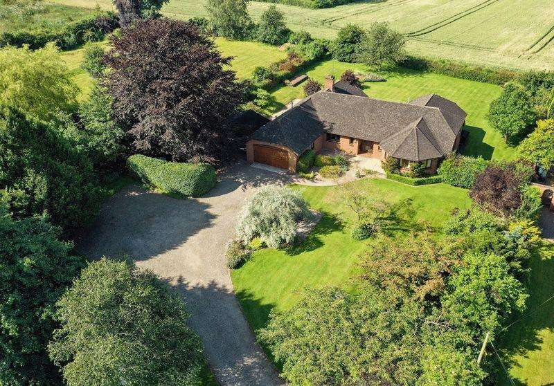 5 Bedrooms Bungalow for sale in Allensmore, Hereford