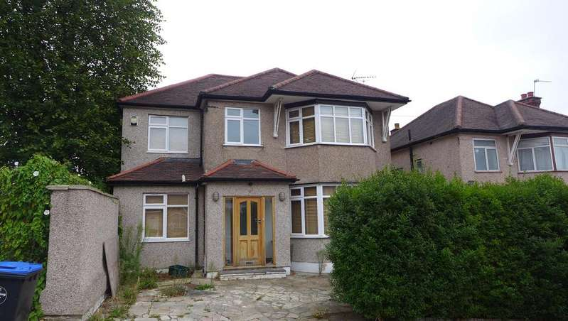 4 Bedrooms Detached House for sale in Hill Close, Dollis Hill NW2