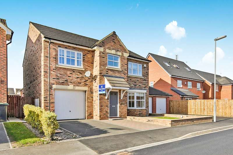 4 Bedrooms Detached House for sale in Hawthorn Drive, Willington, Crook, County Durham, DL15