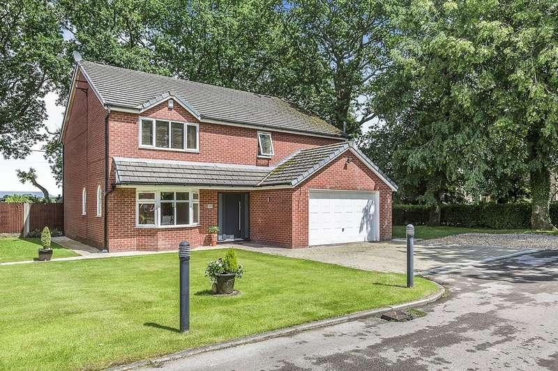 4 Bedrooms Detached House for sale in Orchard Walk, Grimsargh, Preston, PR2