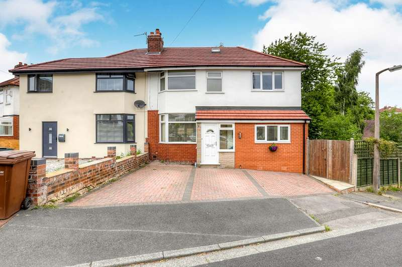 3 Bedrooms Semi Detached House for sale in The Avenue, Bredbury, Stockport, Cheshire, SK6