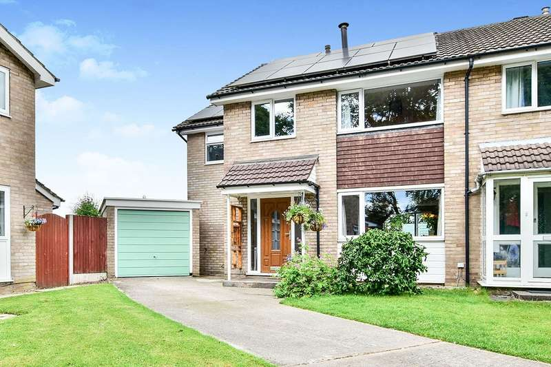 4 Bedrooms Semi Detached House for sale in Tonbridge Close, Macclesfield, Cheshire, SK10