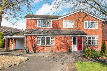 4 Bedrooms Detached House for sale in Sycamore Close, Audlem, Cheshire