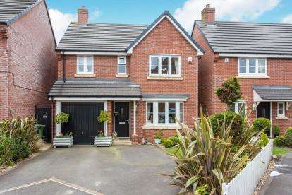 4 Bedrooms Detached House for sale in Beech Avenue, Woore, Shropshire