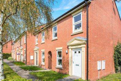 3 Bedrooms Terraced House for sale in Ernley Close, Nantwich, Cheshire