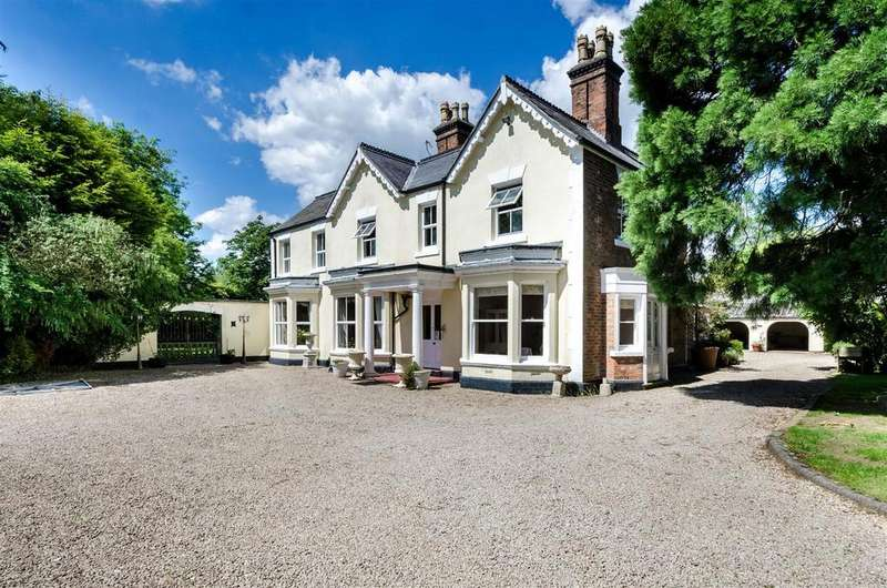 6 Bedrooms Detached House for sale in The Hollies, Lutterworth Road, Burbage