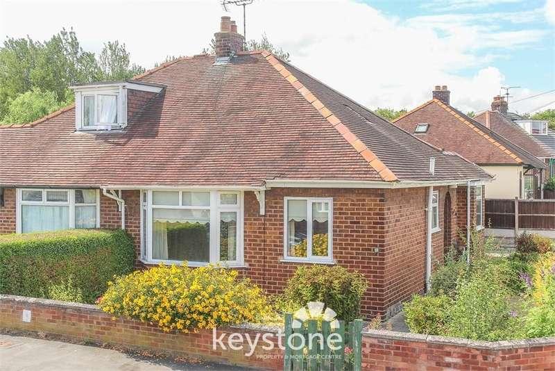 2 Bedrooms Semi Detached Bungalow for sale in Caernarvon Close, Shotton, Deeside. CH5 1AS