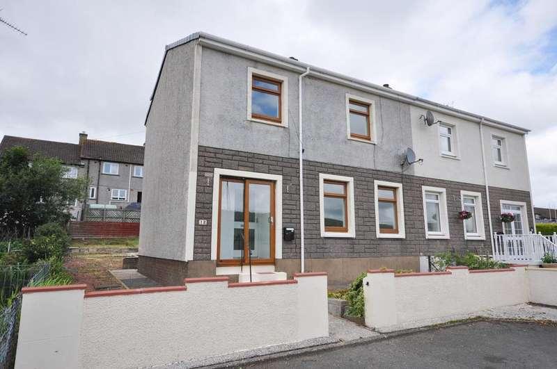3 Bedrooms Semi Detached House for sale in 12 Eldinton Terrace, Dailly KA26